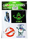 Ghostbusters 4 Pack Stickers