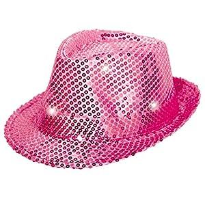 Max Bersinger 816-24-073 gorro, gorra, sombrero y tocado - Gorros, gorras, sombreros y tocados (Adulto, Unisex, Gorro, Rosa, Sombrero fedora)