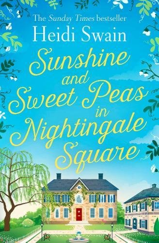 Sunshine and Sweet Peas in Nightingale Square (Square-post)
