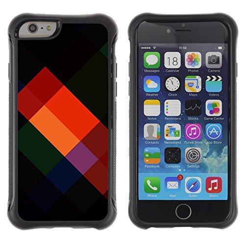 Graphic4You Audio Cassette Tapes Muster Design Shockproof Anti-Rutsch Weichen Hülle Case Tasche Schutzhülle für Apple iPhone 6 Plus / 6S Plus Design #5