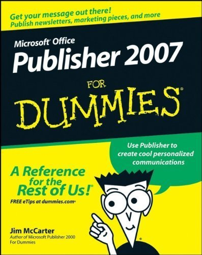 Microsoft Office Publisher 2007 For Dummies by Jim McCarter (2007-12-26) par Jim McCarter;Jacqui Salerno Mabin