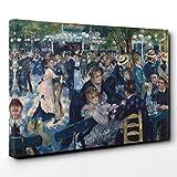 Impresión de Lienzo 30x 20Inch (76x 50cm) Pierre-Auguste Renoir Luncheon of The Boating Party–Lienzo para la Pared Art Listo para Colgar–envío Gratuito