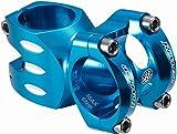 Reverse S-Trail Vorbau 1 1/8 31.8mm 8° flat hell blau: Größe: 50mm