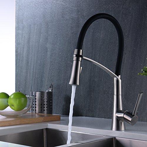 CREA Küchenarmatur Edelstahl Waschtischarmaturen Küche Armatur Küche ...