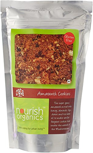 Nourish Organics amaranth Cookies, 150g  available at amazon for Rs.141