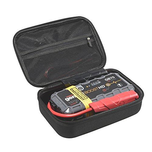 Aproca Duro Viajes Funda Bolso Caso para NOCO Genius Boost HD GB70 Arrancador ultraseguro con batería de Litio 2000 Amp 12V