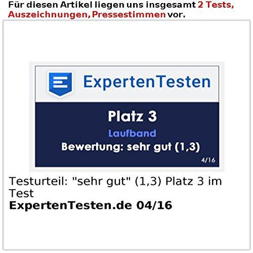 newgen medicals Profi-Laufband LF-712.speed mit 12 Programmen und Pulsmesser - 6