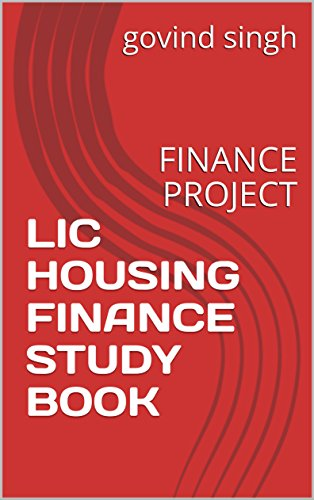 lic-housing-finance-study-book-finance-project