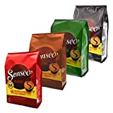 Senseo 48er Variation Monats Pack, Kaffeepads, 4 Sorten, 192 Pads / Portionen
