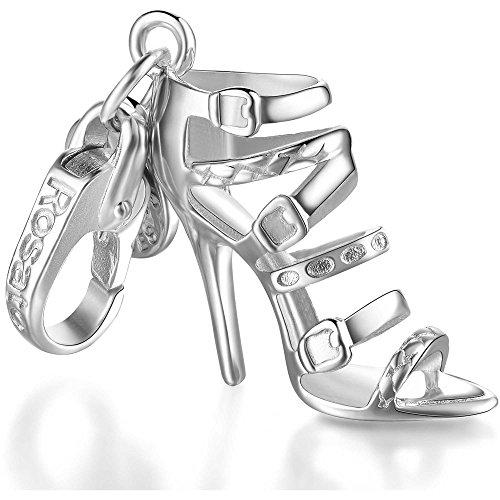 Rosato ciondolo scarpa charm my shoes sandalo con fascette smaltate sh035