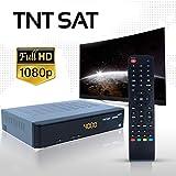 TNTSAT Satellite Récepteur TNT Décodeur - sans Carte - HD Astra (19,2°) / USB / HDMI / MPEG4 / Full HD / 1080P