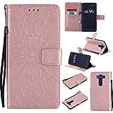 LG V10 Hülle,LG V10 Leder Wallet Tasche Brieftasche