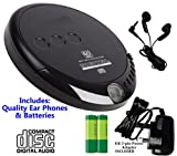 Best Cd Player Portables - Classic CD Discman (Portable Personal CD Player), inc Review