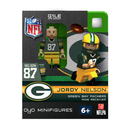 Green Bay Packers NFL OYO Minifigure Jordy Nelson Green Bay Packers Jordy Nelson