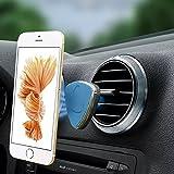 XFAY Magnet Handyhalterung Auto Halterung Lüftung Universal KFZ Halter für iPhone 6S/6Plus /6/5S ,Samsung Galaxy S6/S5, Galaxy Note 4/3 und jedes andere Smartphone oder GPS-Gerät ( Blau )