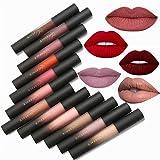 Valuemakers set cofanetto regalo lusso 12 rossetti liquidi mat colori matte a lunga tenuta velvet lipstick