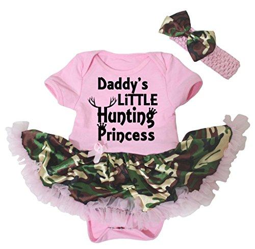 Petitebelle Baby Mädchen (0-24 Monate) Body rosa rose Gr. M, (Tutu Baby Camo)