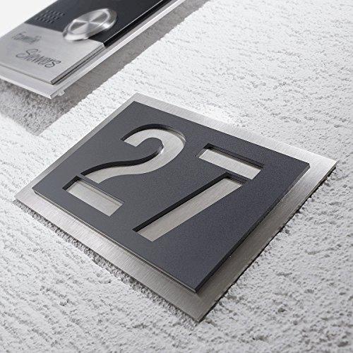 Magnetische Buchstaben Schilder in verschiedenen Farben verf/ügbar wei/ße Zahlen Zahlen und Sonderzeichen