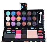 squarex 26Farben Lidschatten Makeup-Palette Kosmetik Lidschatten Blush Lip Gloss Puder