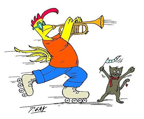 Kaffeetasse Rocko mit Trompete: Zubehör