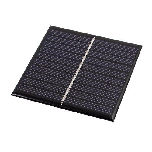 Descripciones:encapsuladas de alta eficiencia, panel solar proporciona suficiente energía para DIY.potencia pequeños motor ES u otras cargas; dispositivos perfectos para el proyecto de ciencias.Portátil, tamaño compacto y elegante con una sólida carc...