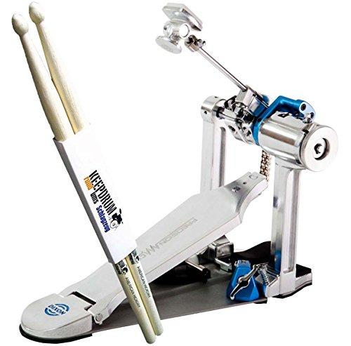 Dixon PCP Precision Coil Pedal Fußmaschine + KEEPDRUM Drumsticks 1 Paar