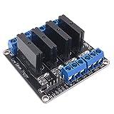 MagiDeal 240 V G3mb-202p Solid State Relaismodul für Industrie,DIY Elektronik-Hobby - 24 V 4 kanal