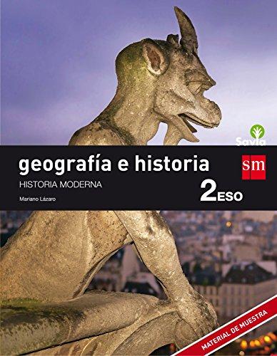 Geografía e historia. 2 ESO. Savia - 9788467586640