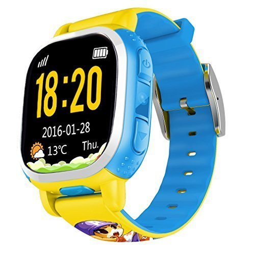 tencent-qq-watch-kids-gps-locating-wrist-smart-watch-phone-yellow-by-tencent