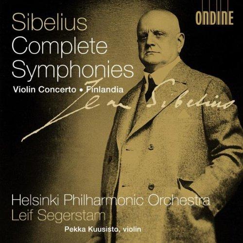 Jean Sibelius: Die Sinfonien / /Violinkonzert op.47 / Finlandia op.26/7 (Sinfonische Dichtung) -