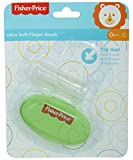 #6: Fisher-Price Silicone Baby Finger-Brush With Case (Green)