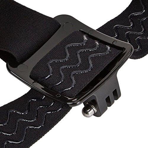 Mobilegear-Flexible-Head-Strap-Mount-with-Adjustable-Belt-for-Yi-SJCAM-GoPro-HD-Hero-Action-Cameras