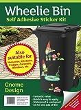 Wheelie Bin Stickers - Gnomes - FREE POSTAGE