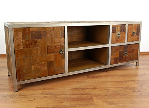 grosses-java-sideboard-aus-metall-und-teakholz-tv-bank-im-industrial-design-asiatische-mobel-der-mar