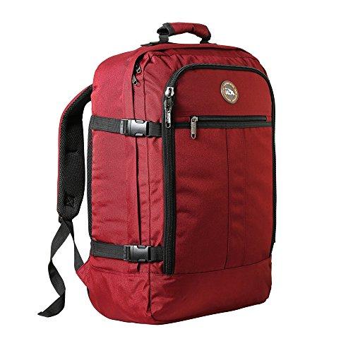 Cabin Max - Sac à dos et bagage à mains pour cabine- capacité brute de 44l… (Oxide Rouge)