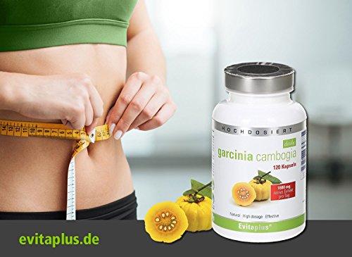 Garcinia Cambogia DAILY 1.800 mg pro Tag 120 vegane Kapseln