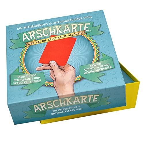 Preis am Stiel Gesellschaftsspiel \'\'Arschkarte\'\' | Kartenspiel | Spieleabend | Fragespiel | Familienspiel | Mitbringspiel | Partyspiel | Ratespiel | Trinkspiel