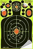 25PK Splatterburst Targets 30,5x 45,7cm adesivo sagoma bersaglio