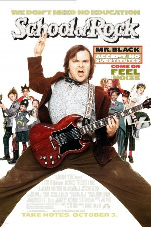 School of Rock - Jack Black - US Imported Movie Wall Poster Print - 30CM X 43CM