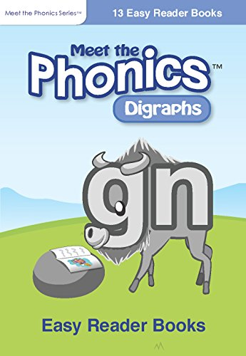 Meet the Phonics - Digraphs Easy Reader Books: Set of 13