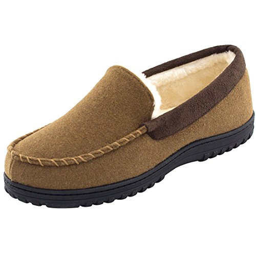 HomeTop , Moccasin homme Marron
