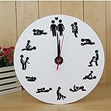 Interessante Uhr Wand Uhr Spaß Geste Wand Uhr Schlafzimmer Dekor