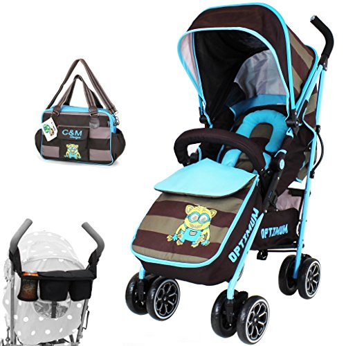 iSafe OPTIMUM Stroller i DiD iT Design + Changing Bag + Parent Console 51 2BO8xAsN6L
