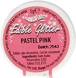 Rainbow Dust Edible Glitter Pastel Pink