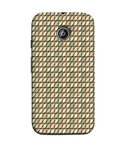 Digiarts Designer Back Case Cover for Motorola Moto X2, Motorola Moto X (2nd Gen) (Zig Zag Cirlce Rectangle Square)