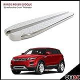 Schwellerrohre Chrom Trittbretter für Range Rover Evoque ab 2012 Whiteline 173