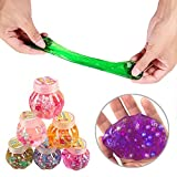 #2: Party Propz Soft Pearl Slime Stress Relief Toy for Kids Set of 6