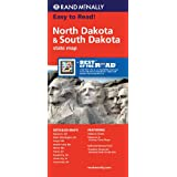 Rand McNally North Dakota/South Dakota State Map (Rand McNally State Maps)