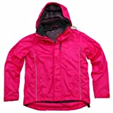 Polaris Kid's Apollo Waterproof Cycling Jacket Pink Small