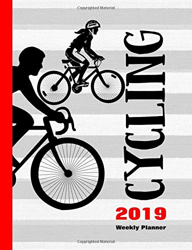 Cycling 2019: Weekly Planner por Shayley Stationery Books